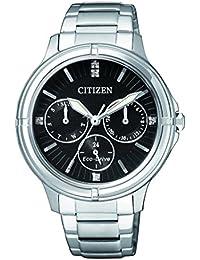 Citizen Damen-Armbanduhr Analog Quarz Edelstahl FD2030-51E