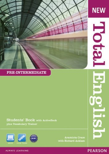 New Total English Pre-Intermediate Students' Book with Active Book Pack by Araminta Crace (20-Jan-2011) Paperback