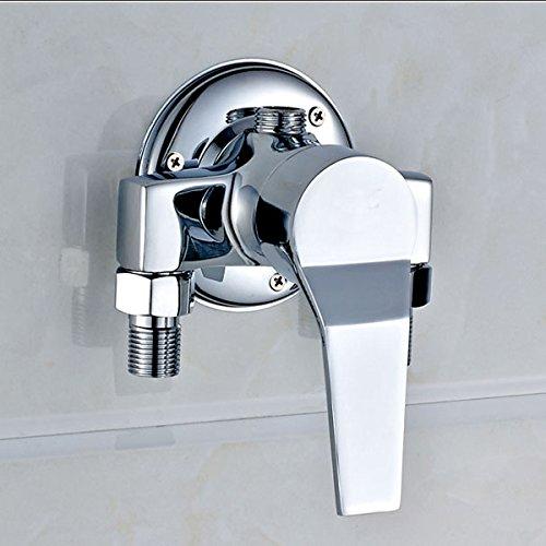 Hlluya rubinetto lavabo bagno cucina il rame tubo-doccia acqua fredda rubinetti in sostituzione della valvola doccia rubinetti di miscelazione di acqua di rubinetto della valvola