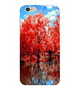ColourCraft Beautiful Trees Design Back Case Cover for APPLE IPHONE 6 PLUS