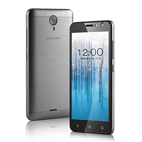 Smartphone 4G Libre Barato G one 5 0 inch  Android 7 0  1GB RAM   8GB ROM  C  mara 2MP   5MP  2200 mAh  Dual Sim  Plata