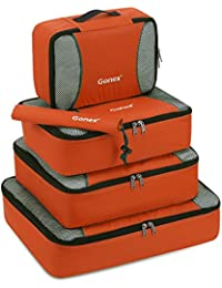 Gonex Packing Cubes Travel Luggage Packing Organisers Pouches Set of 3pcs 5pcs 9pcs
