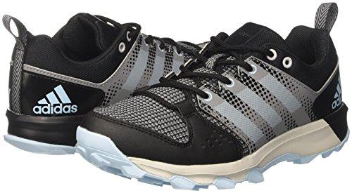 adidas Damen Galaxy Trail Laufschuhe, Mehrfarbig (Core Black/Icey Blue F17/Icey Blue F17), 40 2/3 EU