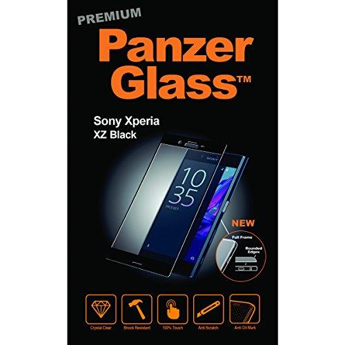 Image of PanzerGlass PREMIUM Sony Xperia XZ/XZs, Black Displayschutz