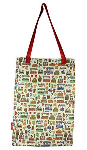 Selina-Jayne Markt Tag Limited Edition Designer Baumwolltasche (Tote - Jayne Tote