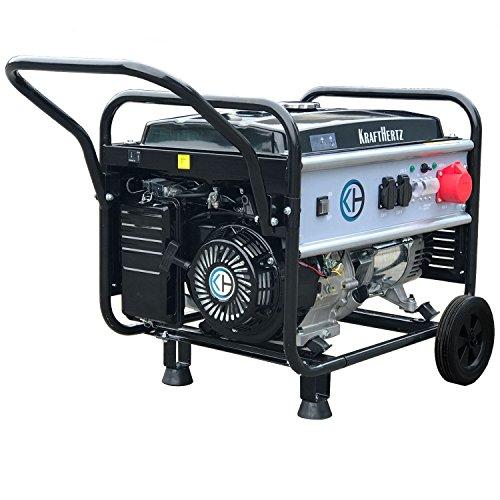 KRAFTHERTZ® Stromerzeuger, Diesel | Benzin | Inverter, 3000-5500 Watt, 1 & 3 Phasen (5500 Watt Benzin 1 & 3 Phase)