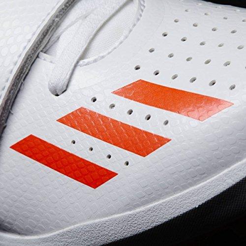 adidas Herren Jumpstar Leichtathletikschuhe Weiß