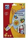 Mammut L9807363 - Fenstermalfarben Glitzer 5 Farben