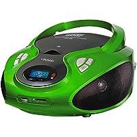 Radio con lettore CD/MP3 e USB, reader carta SD, portatile, adatto ai bambini