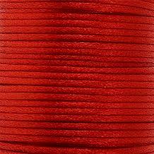 Cordón Cola De Rata rojo–2mm–25metros