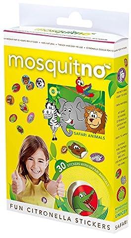 MosquitNo Spotz Safari Aufkleber (5Stück).