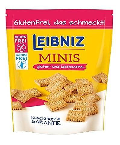 Leibniz Minis Gluten und Laktosefrei, 8er Pack (8 x 100 g) (Gluten Laktosefrei)