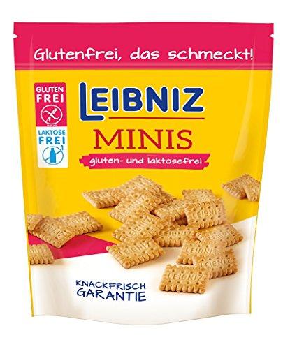 Leibniz Minis Gluten und Laktosefrei, 8er Pack (8 x 100 g)