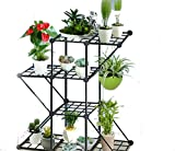 #1: Decowin Plant Stand For Balcony
