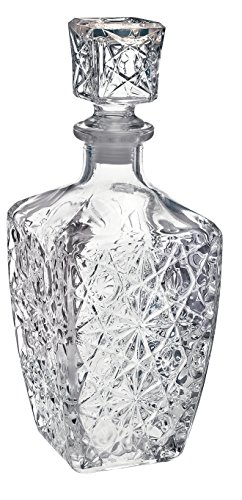 Bormioli Rocco Weindekanter aus Glas für Spirituosen, Dedalo?800ml (28oz).
