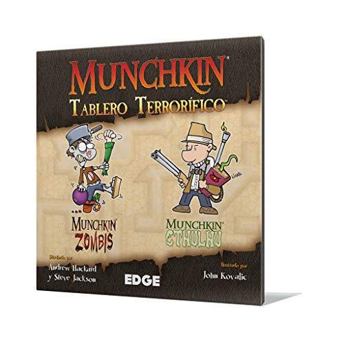 Edge Entertainment Munchkin-Tablero terrorífico-español. (EDGMUGB2)