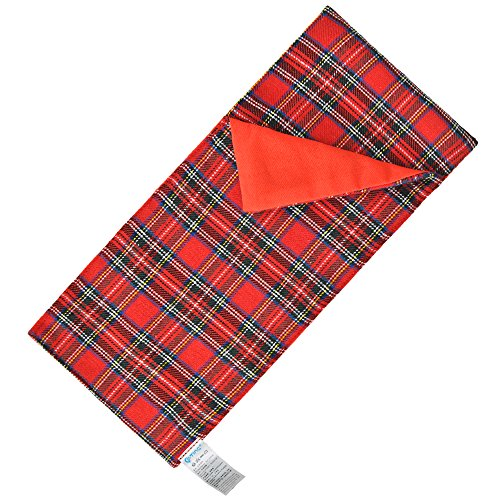 E-TING Sleeping Bag Christmas Accessory for Elf Doll (Red Plaid) Doll is not included