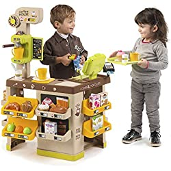 Smoby - 350214 - Coffee House - 57 Accessoires Inclus