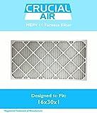 Think Crucial Ersatz für 16x 30x 1Merv 11Allergen Air Ofen & Klimaanlage Filter, Bundfaltenhose