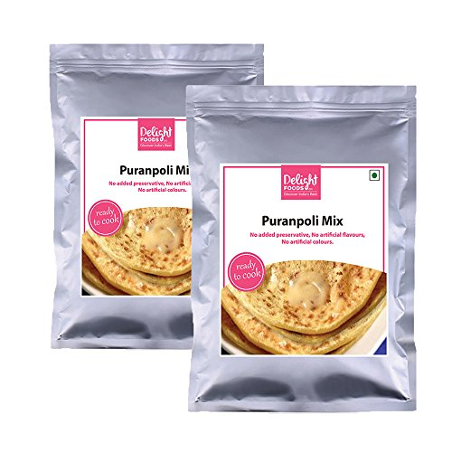 Delight Foods Puranpoli Mix – 200gm (Set of Two)