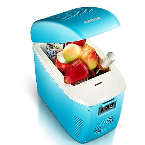 Q-HL Auto Elektrische Kühlschrank Kühlbox, 7.5L Auto Kühlschrank, tragbare Kühlschrank Kompressor, AC und DC Hot Spot System, Thermostat, Lagerung von Medikamenten, Kosmetik Kühlschrank.