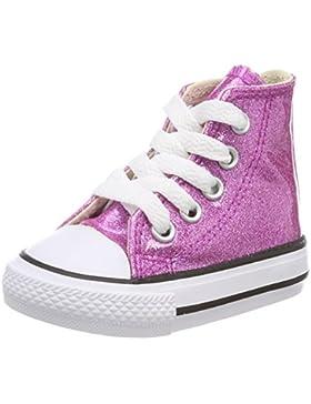 Converse Ctas Hi Bright Violet/Natural/White, Zapatillas Altas Unisex Niños