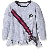 Zunstar Isabelle Camiseta de Manga Larga para niña Gris Gris Talla:FR : 24 mois (Taille Fabricant : 86/92)