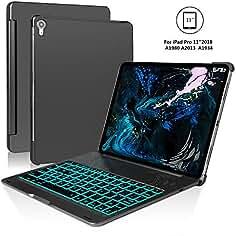 SENGBIRCH Funda con Teclado iPad Pro 11, Negro