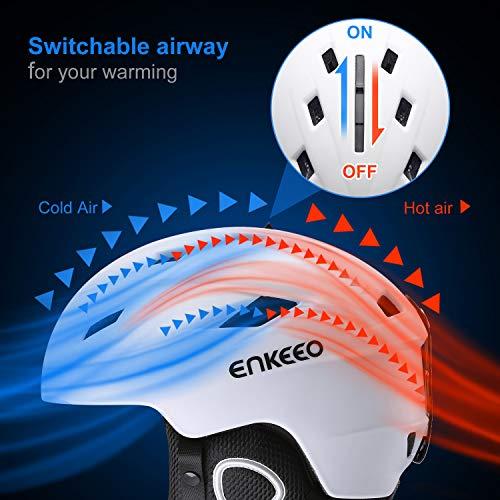 Zoom IMG-3 enkeeo casco da sci 2