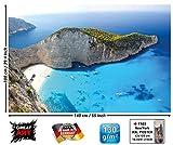 XXL Poster - Zakynthos Beach - Wandbild Dekoration