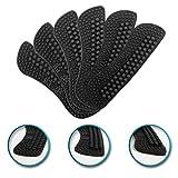 3 Paires Plaquettes à Talon L'éPaisseur Varie De 2Mm à 6Mm 4D Coussinets à Talons Talon Protecteur Convient Aux Chaussures LâChes AméLiorer Le Confort De Vos Chaussures(Noir)