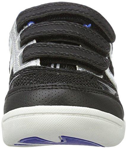Hummel Root Jr Velcro, Scarpe Sportive Indoor Unisex – Bambini Nero (Black)