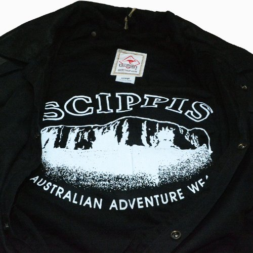Scippis - Drover jacket Black