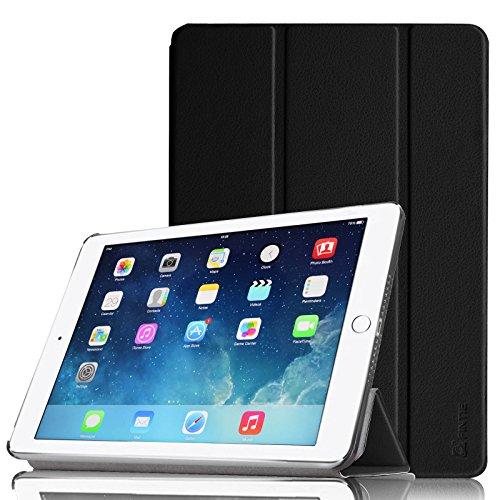 Fintie iPad Air 2 Hülle - Ultradünn Superleicht Smart Cover Schutzhülle Tasche Case mit Ständer und Auto Sleep / Wake Funktion für Apple iPad Air 2 (iPad 6 6th Generation), Schwarz