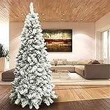 E' sicuramente il protagonista del Natale dove i bambini scarteranno i regali e gli ospiti rimarranno incantati con il magnifico albero Slim innevato.  Questo bellissimo albero è fornito di tanto rami che lo rendono molto folto.  Ma ciò che r...