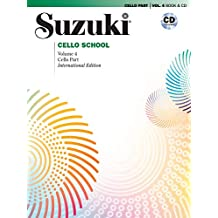 Suzuki Cello School Revised 4, mit CD (Suzuki Cello School, Volume 4)