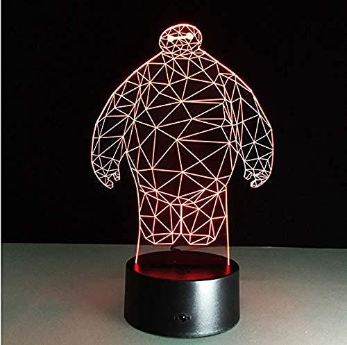 Cartoon Spiel Abbildung 3D Led Usb Lampe Acryl Weihnachtsbeleuchtung Geschenk Touch Controller Spielzeug ()