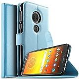 KuGi for Motorola Moto E5 Plus case, PU Leather Wallet