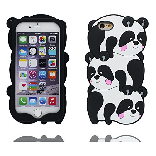 "Hülle iPhone 7 Cover 3D Bär Fluffy Haar, TPU Flexible Durable Shock Dust Resistant iPhone 7 Handyhülle 4.7"", iPhone 7 case 4.7"" # 7"