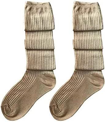 BYSTE Ragazze Donna Coscia alto Sopra il ginocchio Calzini Lungo Cotone calze autoreggenti Caldo