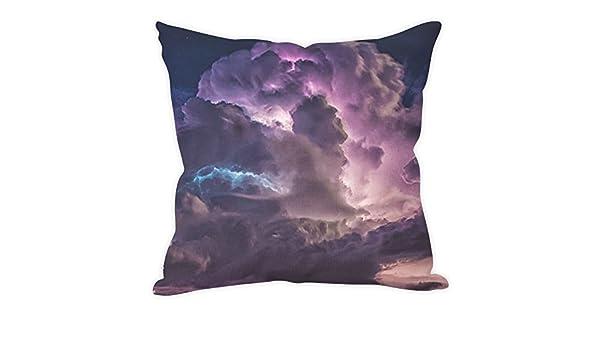 Iridescent Cloud Throw Pillow Cover