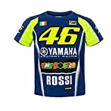 Valentino Rossi VR46 Moto GP M1 Yamaha Racing Team Enfant T-shirt Officiel 2018