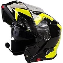 Viper A092HV RSV151 Casco para motocicleta con altavoces Bluetooth