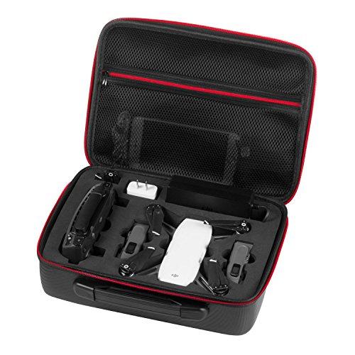 Rhodesy Wasserdichter Koffer Tragbares Case Schutz-Case Tragekoffer für DJI Spark Drohne