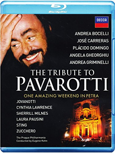 Bild von The Tribute to Pavarotti - One Amazing Weekend in Petra [Blu-ray]