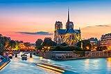 Kathedrale Notre Dame de Paris Stadt XXL Wandbild Foto