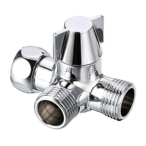 ge-Umsteller für Handbrause 1/5,1cm T Adapter Dusche Kopf Wasser Ventil ()
