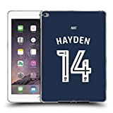 Offizielle Newcastle United FC NUFC Hayden 2016/17 Spieler Away Kit 2 Soft Gel Hülle für Apple iPad Air 2