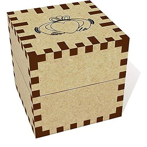 Petit (39mm) 'Bague Claddagh' boîte de bague (JB00000937)