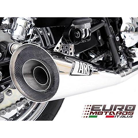 Triumph Scrambler Carburatore Zard Impianto Scarico Completo Basso Terminale Sport Lucidato +1.5CV Exhaust